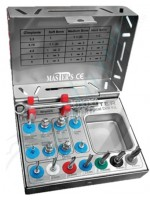 Kit Completo Fresas Quirúrgicas (Surgical Drill Kit)