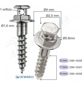M.O.S.A.S. tornillo Ø 0.8 mm. - 5 uds.